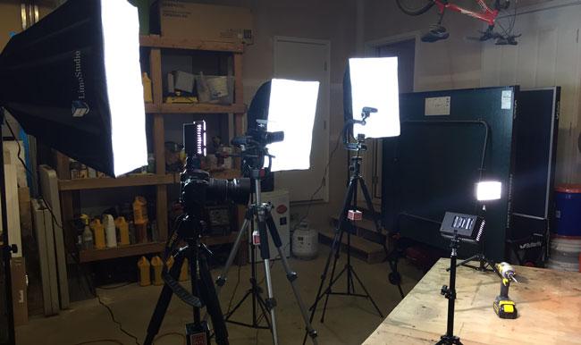 DIY PETE camera equipment