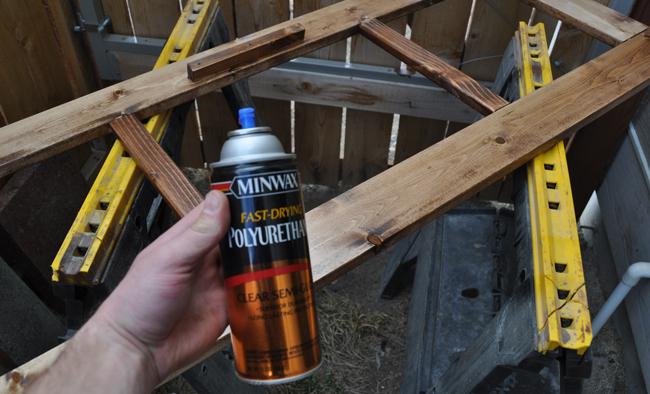 Minwax Spray polyurethane