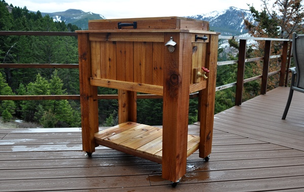 build wooden patio table | Woodworking Camp and Plans