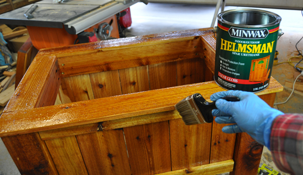 Diy Pete Minwax Cedar Ice Chest