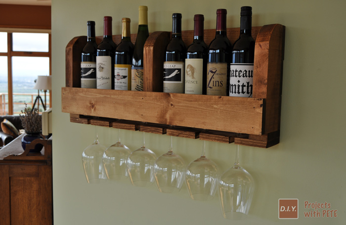 DIY PETE WINE RACK
