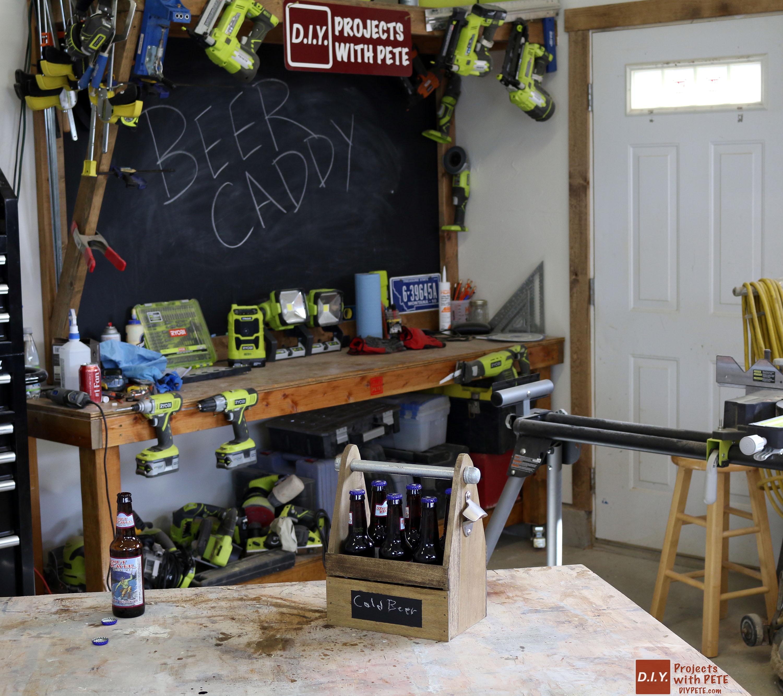 Diy Beer Caddy Six Pack Carrier Wood Beer Tote Plans