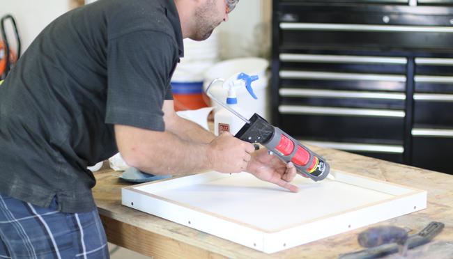 How to make a concrete counter mold