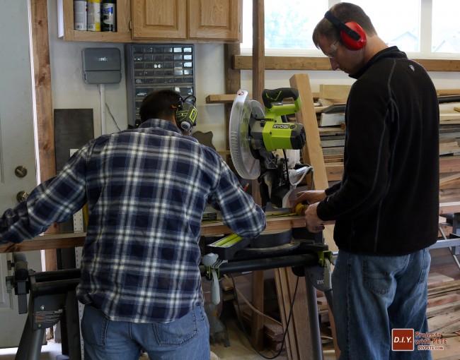 barnwood, barnwood frame, canvas frame, miter frame, barn wood