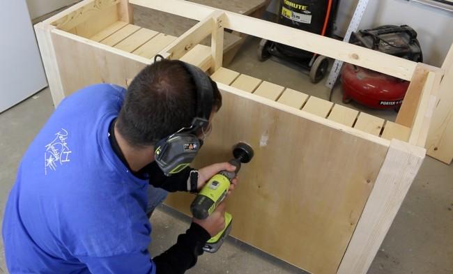 tv console, tv, console, wood console, woodworking, how to