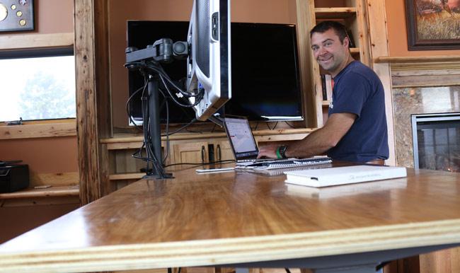 Examples of DIY Standing Desks
