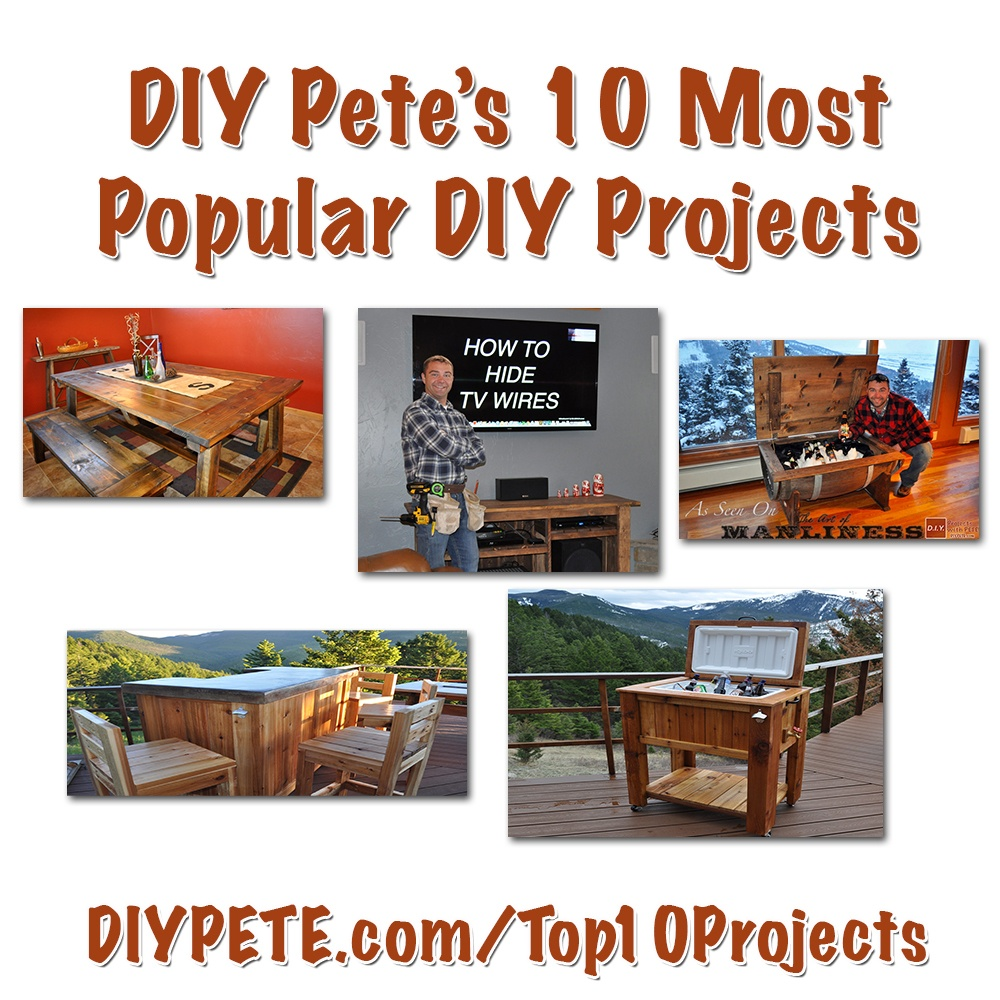 diy pete, woodworking, diy, concrete