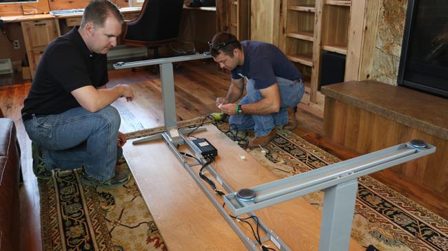 Diy Standing Desk Diy Pete Stand Modern