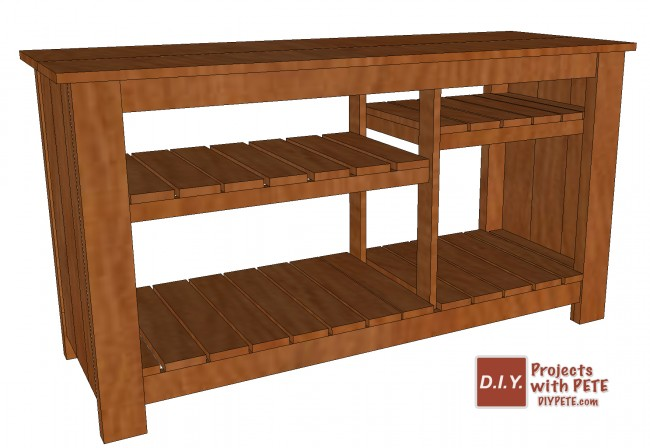 Tv Console Table Trendy Diy Pallet With