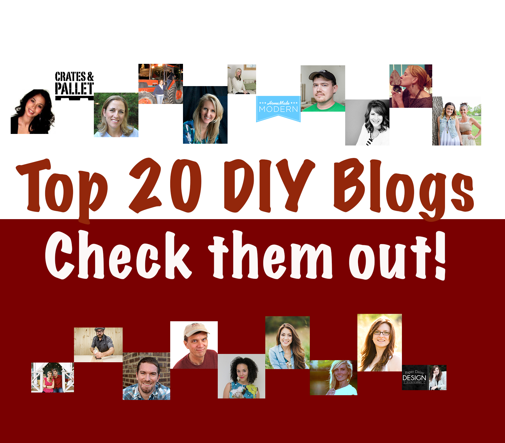 The Top 20 DIY Blogs | DIY Projects With Pete