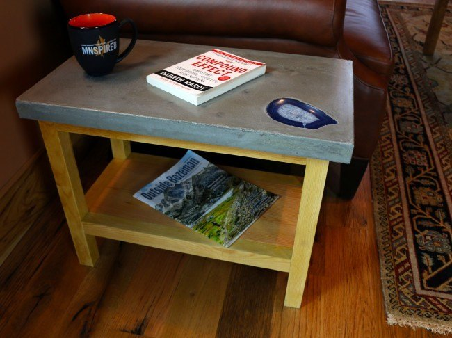 Final End Table Cabin