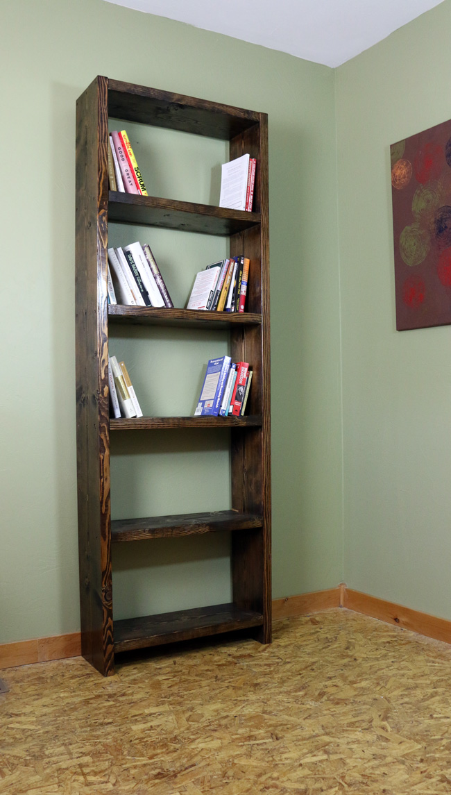 How To Make A Bookshelf Simple Diy Projects