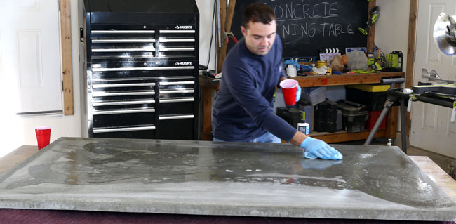 DIY Concrete Dining Table DIY Pete