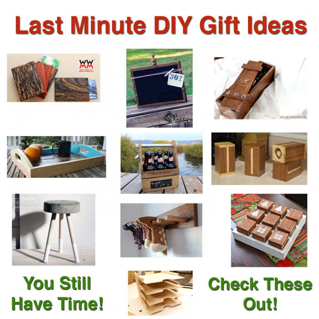 diy, diy gift ideas, last minute gift, gift ideas, woodworking gift ...