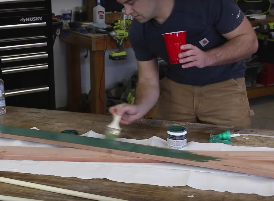 Diy Wood Skis Pole Wall Decor Diy Projects With Pete