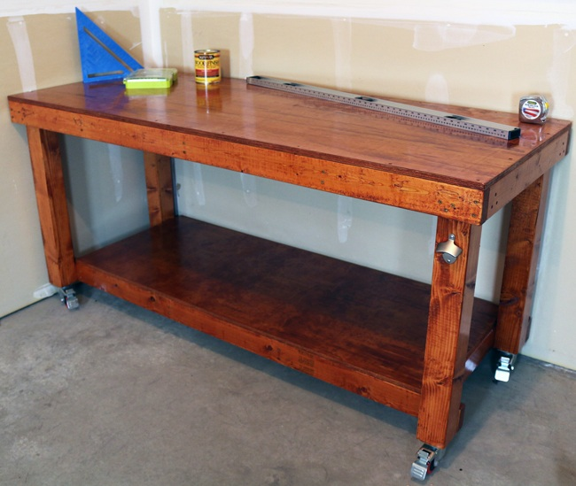 simple workbench, diy workbench