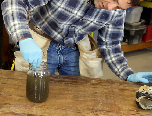 steel wool and vinegar stain, steel wool, vinegar, steel wool and vinegar, wood stain, diy wood stain, diy