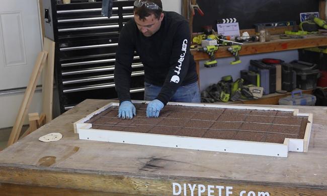re-enforcement for concrete table