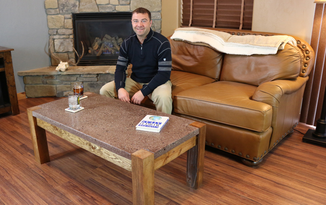 How To Make A Concrete Table With DIY PETE