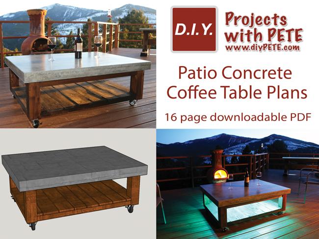 Concrete Table Plans