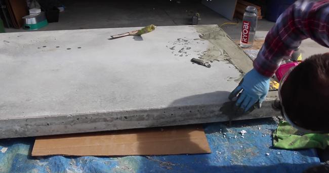 Filling concrete voids