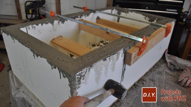 Concrete-table-base