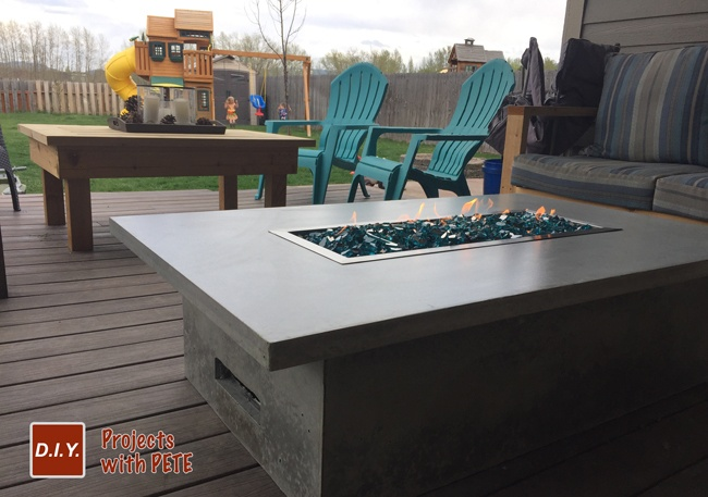 Learn how to make an outdoor gas fireplace. Detailed Video tutorial