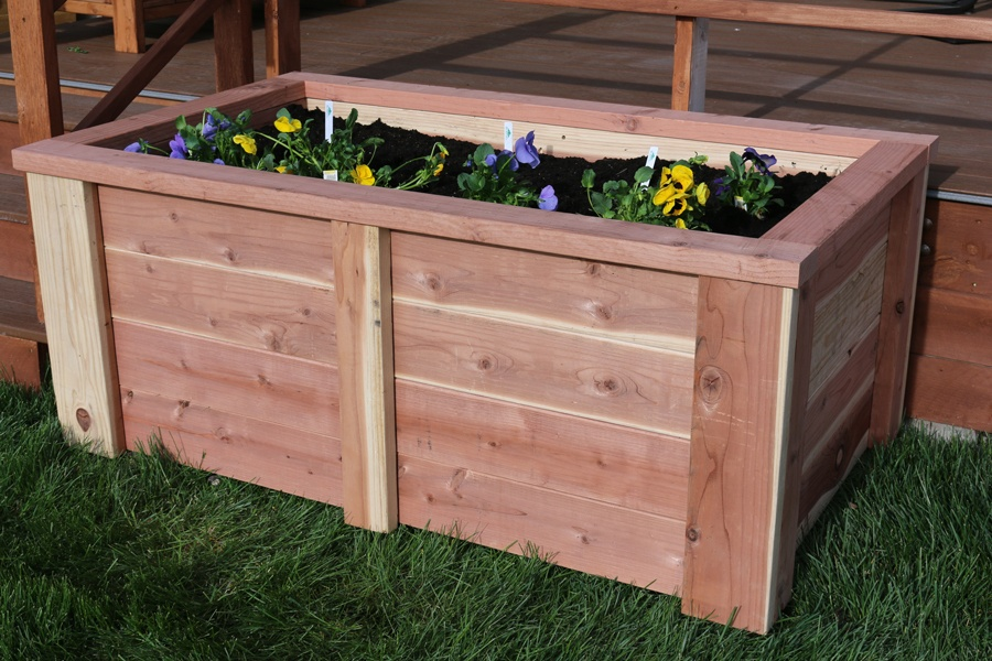 diy raised garden bed, Natural flower