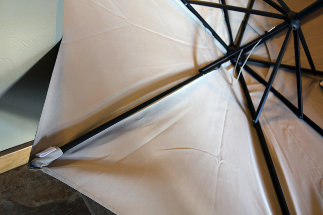 How To Paint A Patio Umbrella With Diy Pete