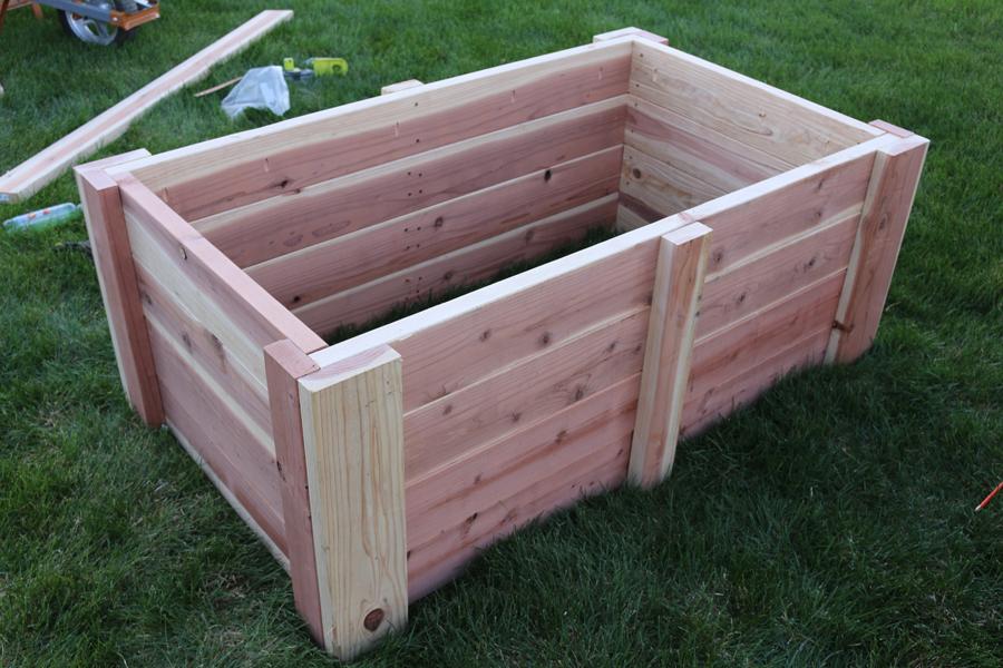 DIY Raised Garden Bed