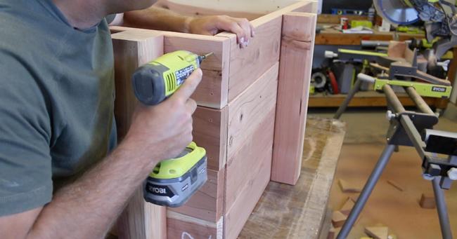 attaching-raised-garden-bed-panels