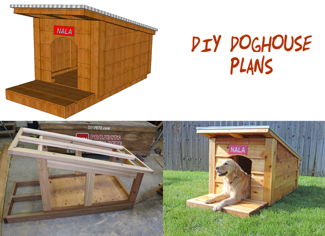Free-doghouse-plans