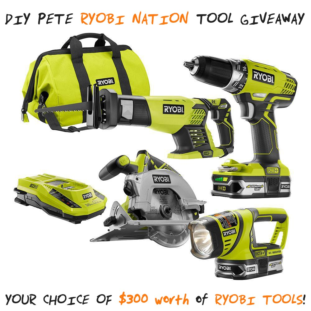 Sweet Diy Pete  Ryobi Nation Tool Giveaway  Diy Projects With Pete With Excellent Gardens In Gloucestershire Besides Theatre Museum Covent Garden Furthermore Garden Ramp With Amusing Pvz Garden Warfare Pc Also Fortune Garden Leigh On Sea In Addition Hyundai Garden Grove And App Garden As Well As Hanover Gardens Additionally Evergreen Trees For Small Gardens From Diypetecom With   Excellent Diy Pete  Ryobi Nation Tool Giveaway  Diy Projects With Pete With Amusing Gardens In Gloucestershire Besides Theatre Museum Covent Garden Furthermore Garden Ramp And Sweet Pvz Garden Warfare Pc Also Fortune Garden Leigh On Sea In Addition Hyundai Garden Grove From Diypetecom