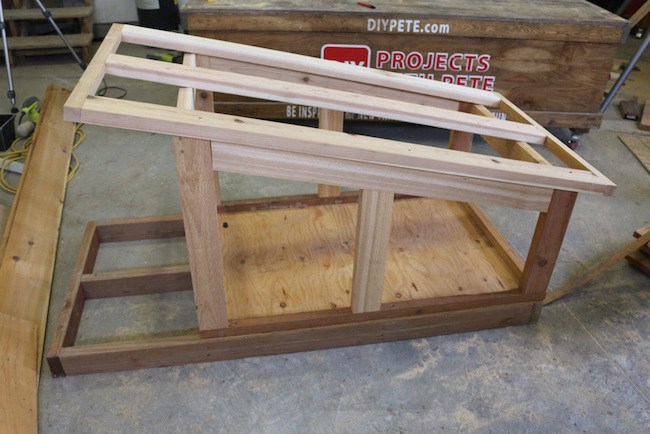 doghouse roof frame