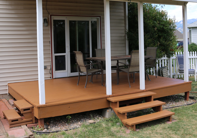 restore an old deck