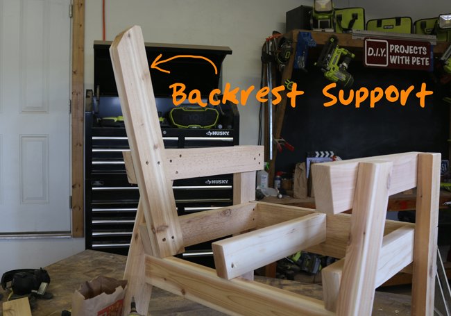backrest-support