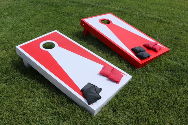 DIY Cornhole board plans