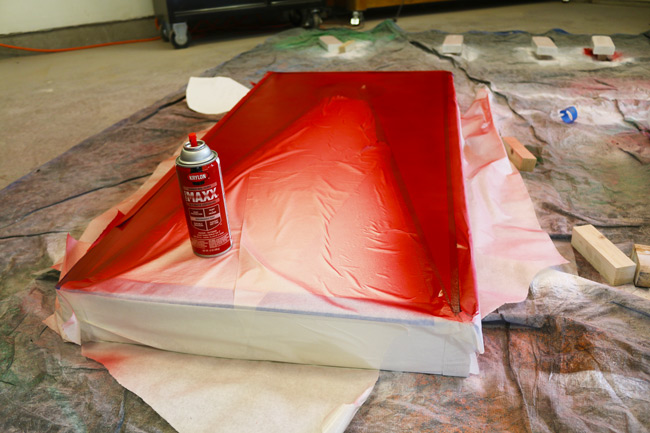 red-krylon-paint