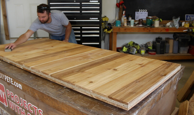 Cedar Barn Door Sealer