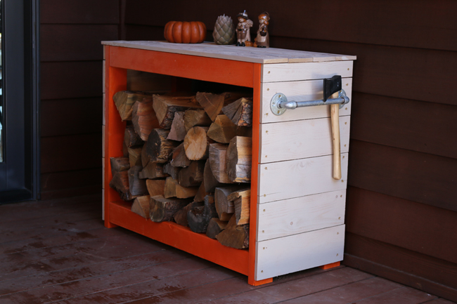 DIY Firewood Rack