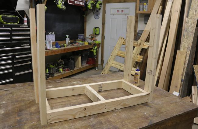 Assembling Firewood Rack