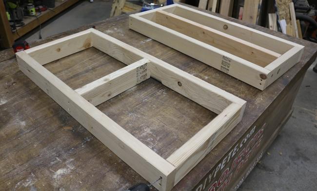 firewood rack frame