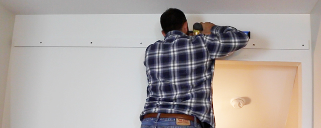 how to install a sliding barn door diy pete