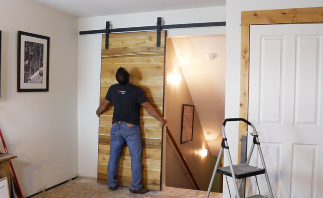 how to make a sliding barn door diy pete & How to Make a Sliding Barn Door - Free Plans | DIY Projects With Pete