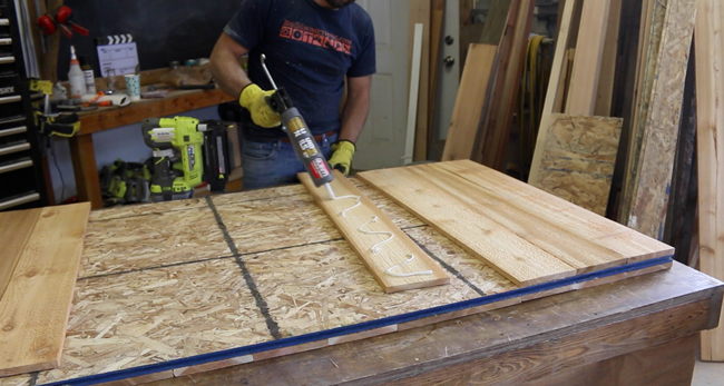 how to build a sliding barn door out of pallets