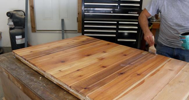 Raw Finish Cedar