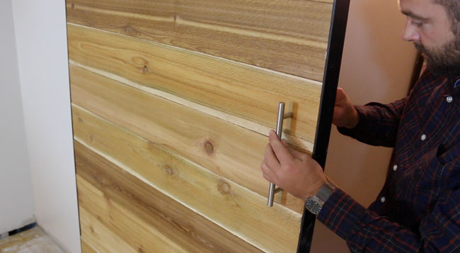 How to Make a Sliding Barn Door - Free Plans - DIY Projects With Pete