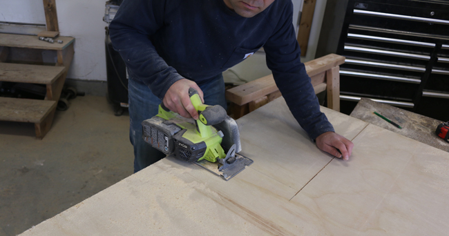 How to make a plyometric box