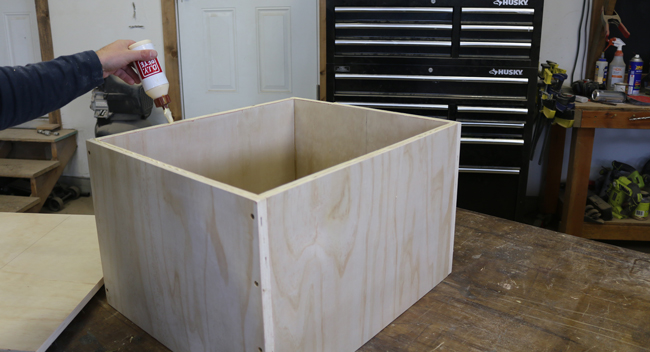 glue plyometric box