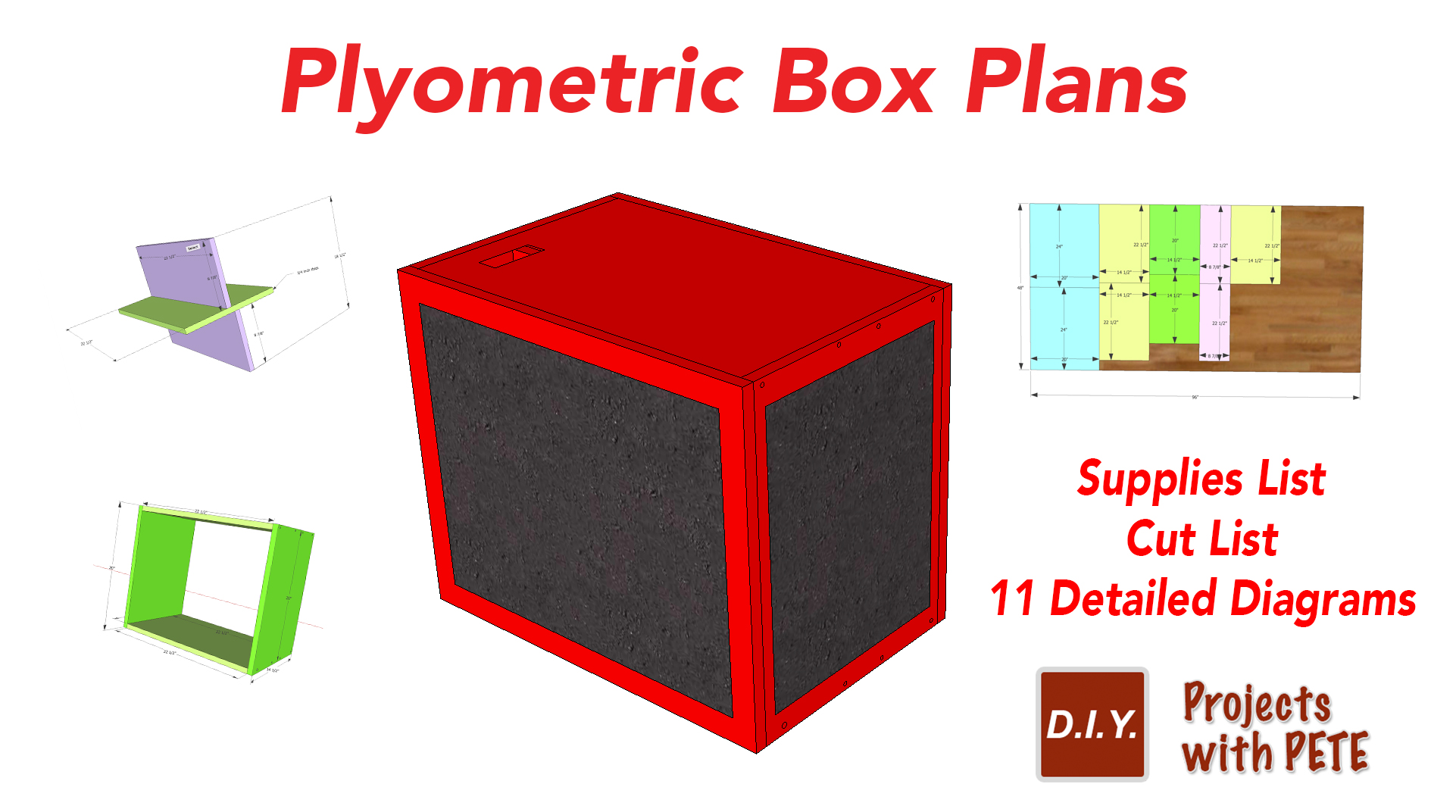 How To Make A Plyometric Box With Free Plyometric Box Plans